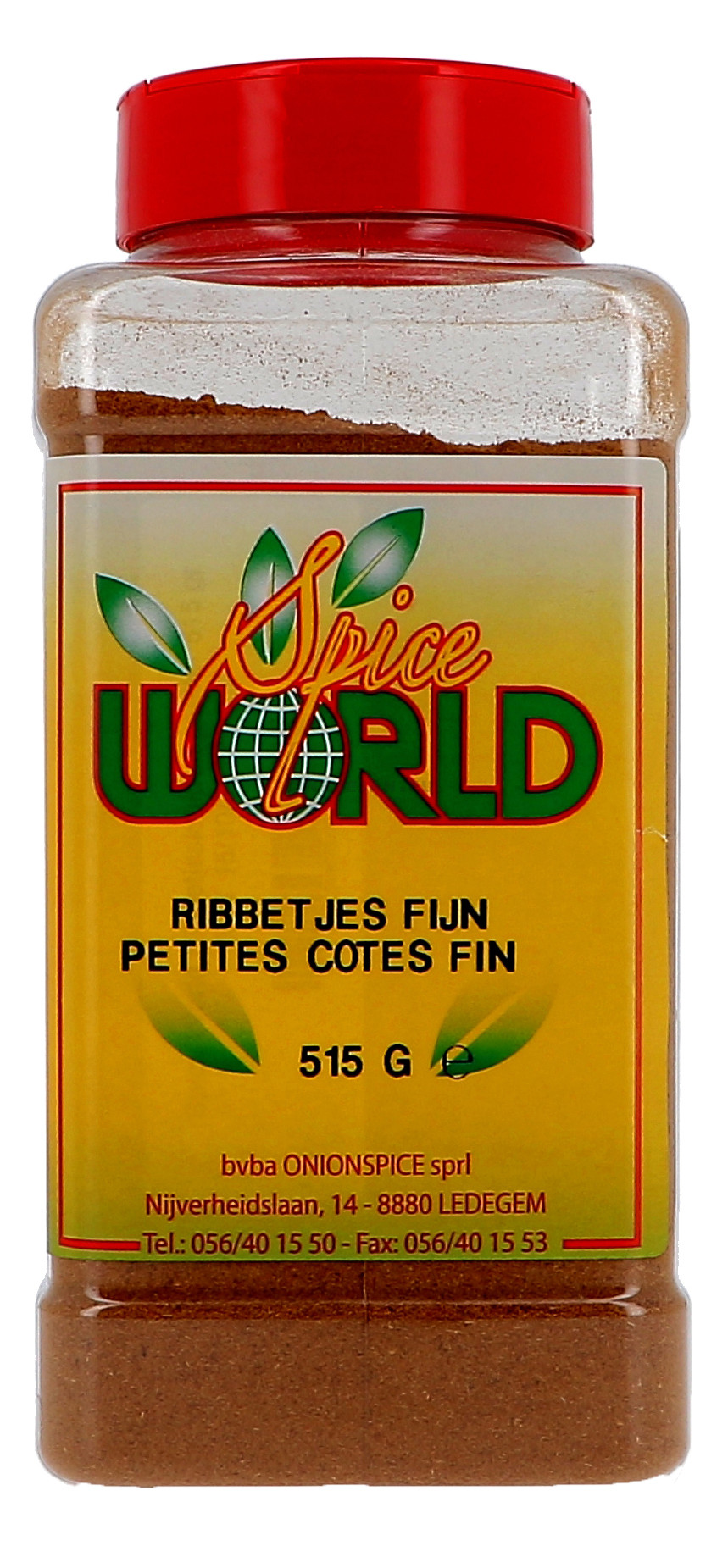 Rib spices mix powder 515gr 1LP Spice World (Isfi & Verstegen)