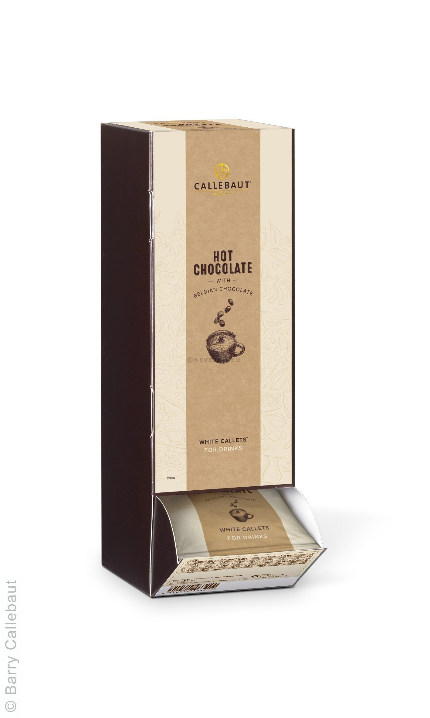 Callebaut Callets Hot Chocolate White 35gr 25st