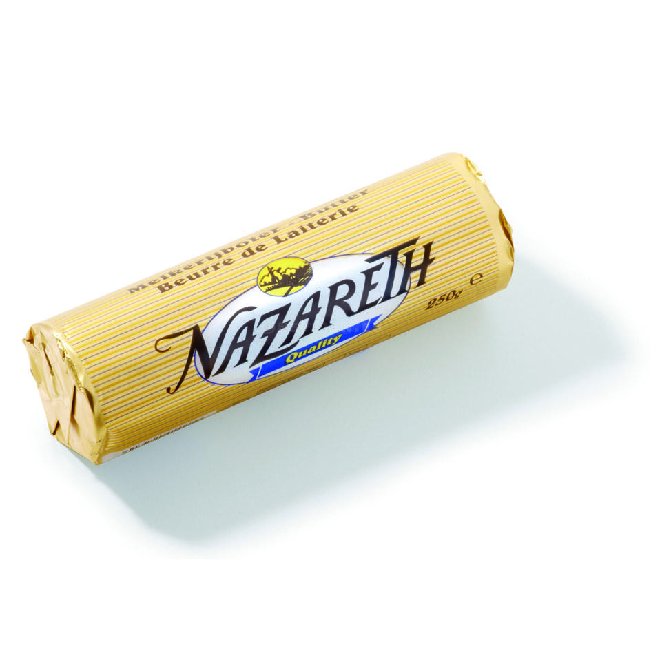 Nazareth butter without salt 250gr