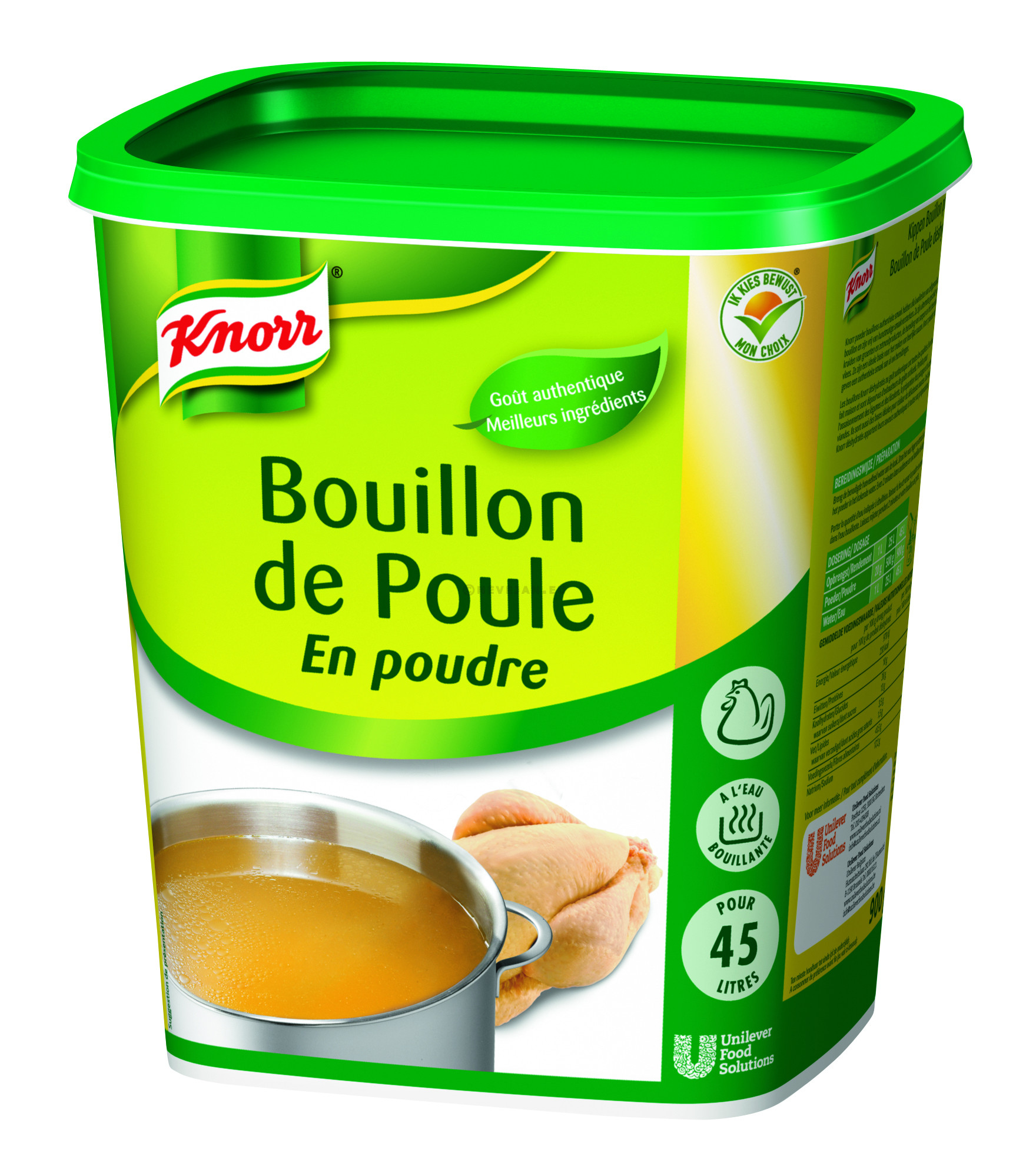 Knorr Gastronom chicken bouillon granulated 1kg Professional
