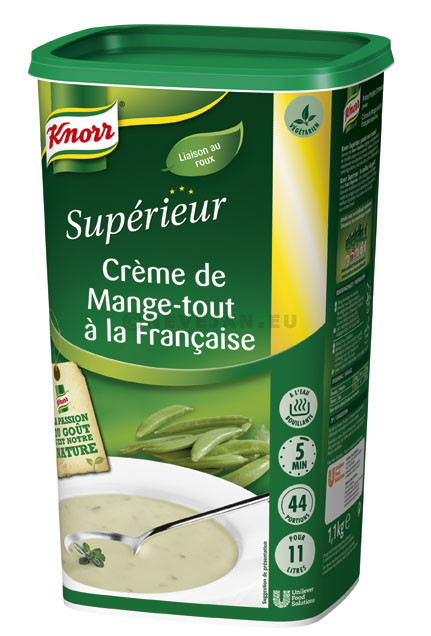 Knorr Superior soup French snow peas 1kg