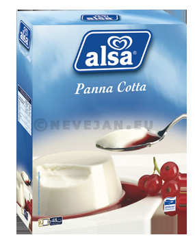 Alsa dry mixture for Panna Cotta 520gr