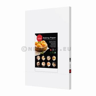 Baking Parchment 40x60cm white 500pc Saga