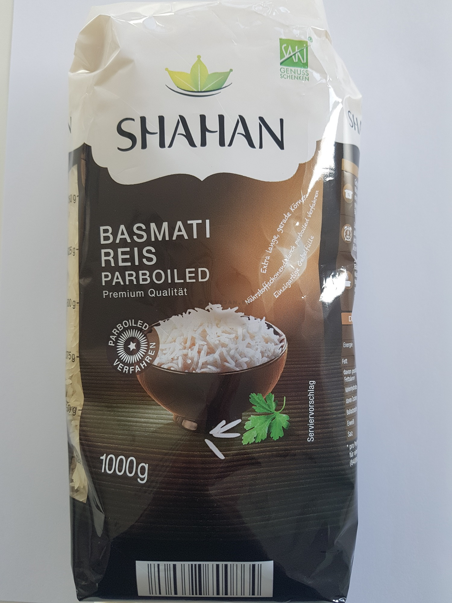 Basmati rice 1kg 1º Quality India