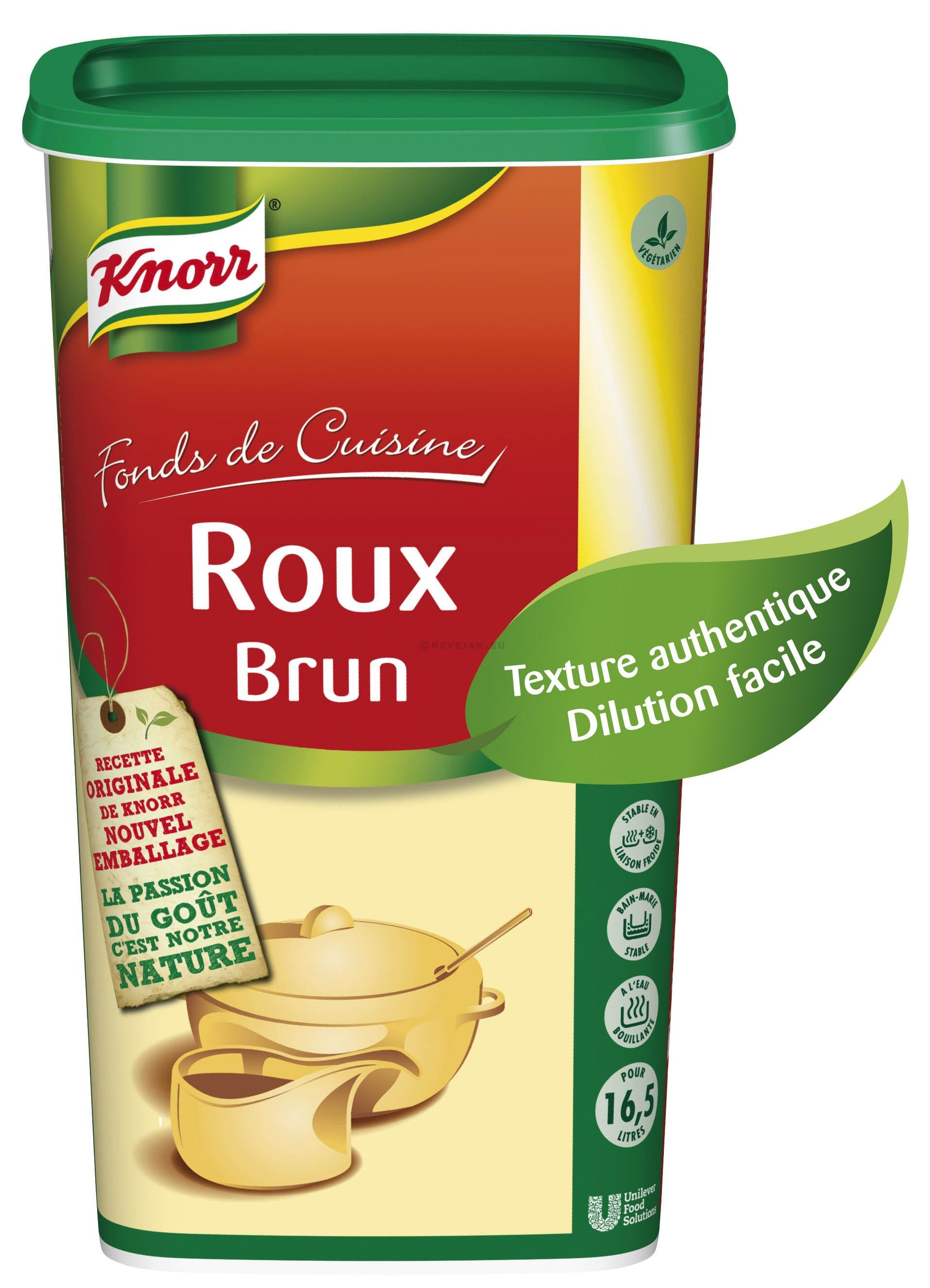 Knorr roux brown granules 1kg Professional