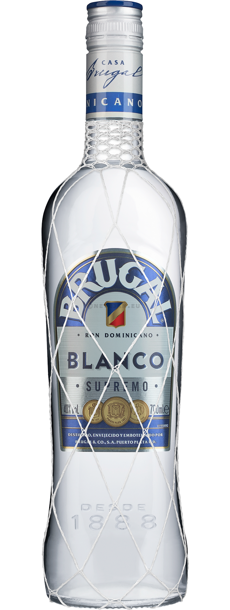 Rum Brugal Blanco Supremo 70cl 40% Dominican Republic