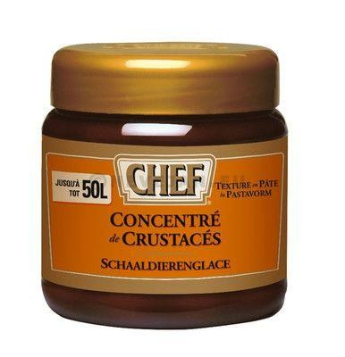 Chef Shellfish concentrate paste 500gr Nestlé Professional