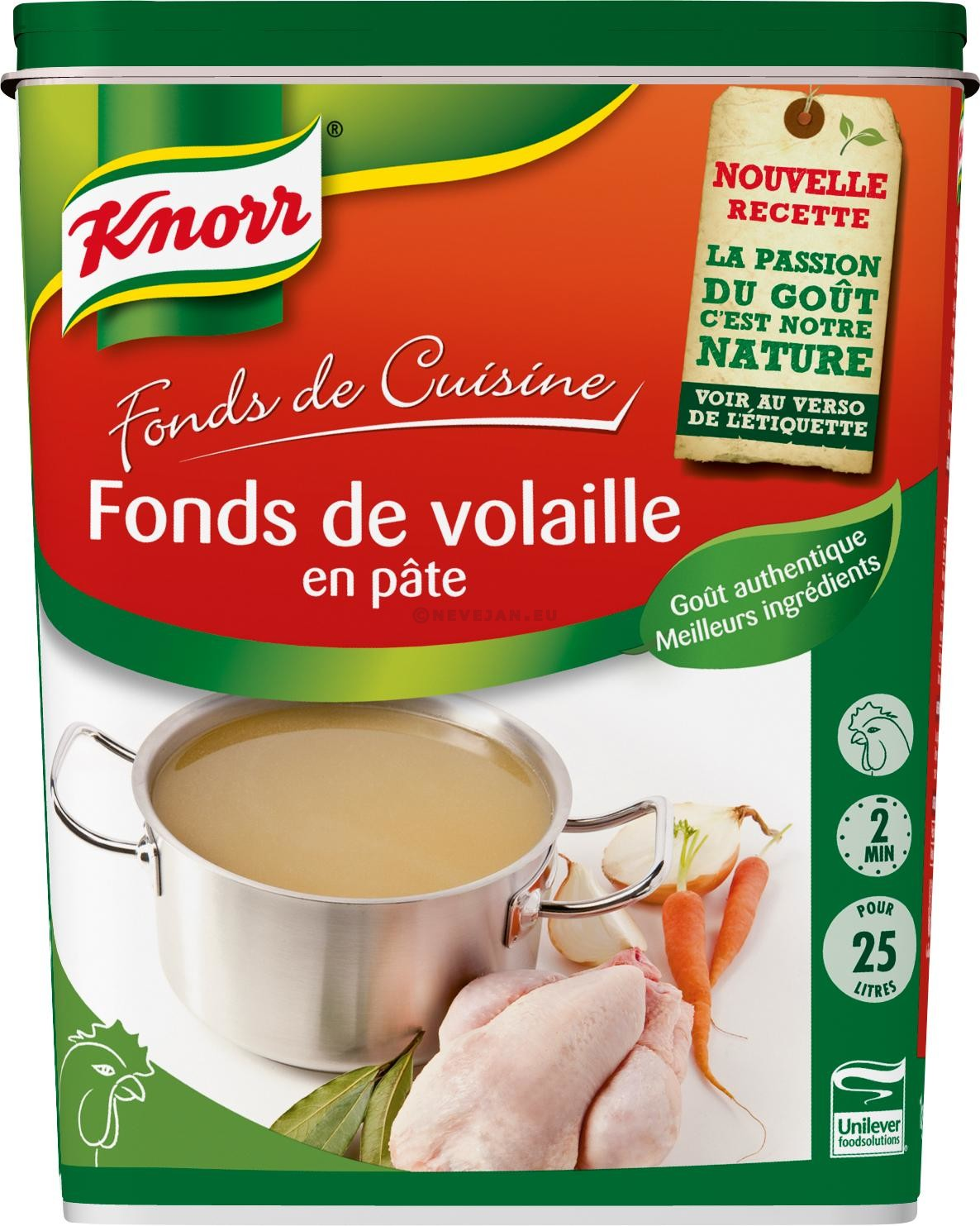 Knorr Chicken Stock paste 1kg
