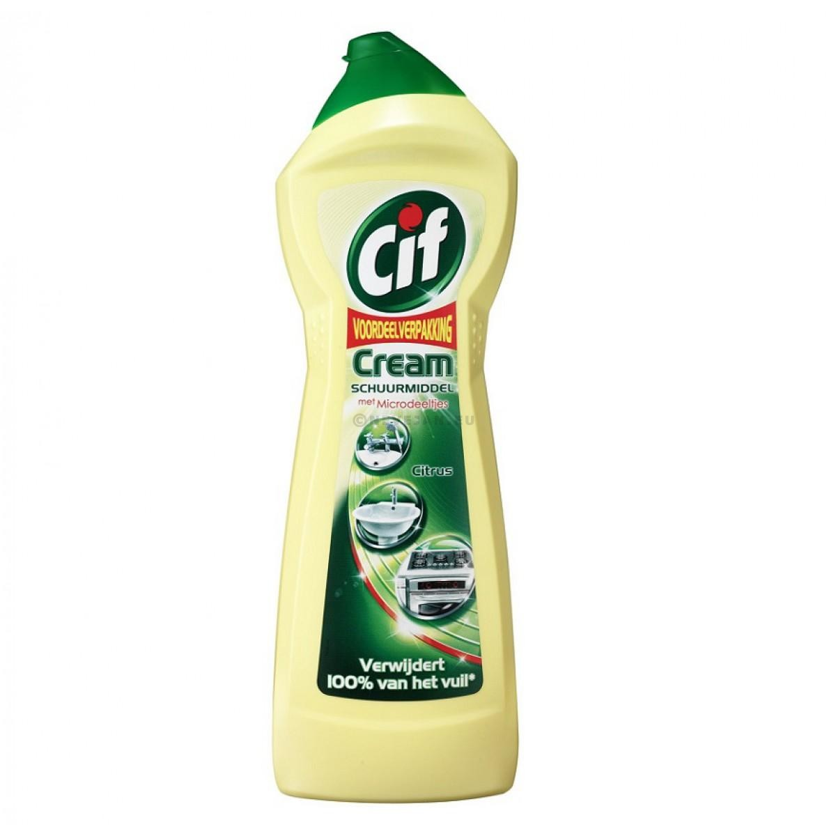 CIF Cream schuurcrème citroen 750ml