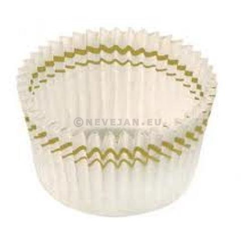White Baking Cups paper N°5 greaseproof 28/20mm 1400pcs Nordia