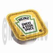 Heinz Sauce Sweet & Sour portions 100x21ml cups