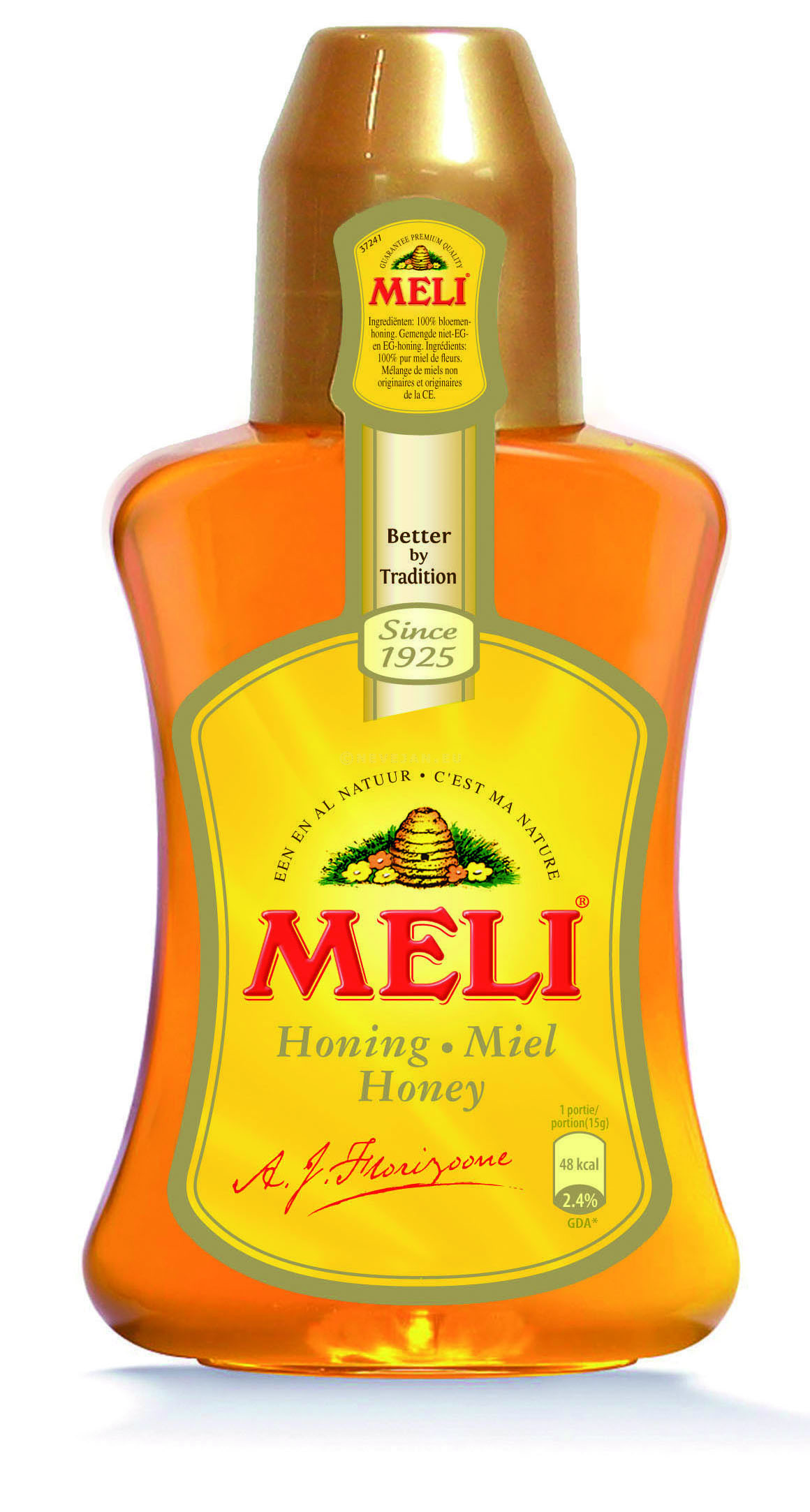 Meli Acacia Honey liquid (100%) 500g squeezable bottle