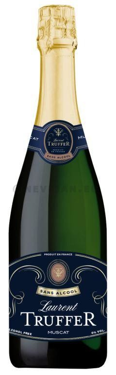 Sparkling Wine without Alcohol Laurent Truffer 75cl 0% Brut