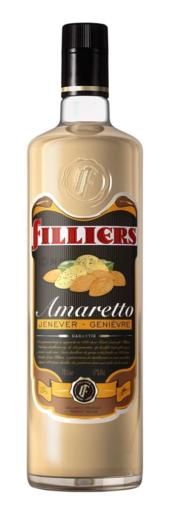 Filliers amaretto cream jenever 70cl 17%