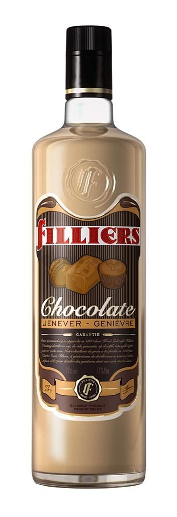 Filliers chocolate cream jenever 70cl 17%