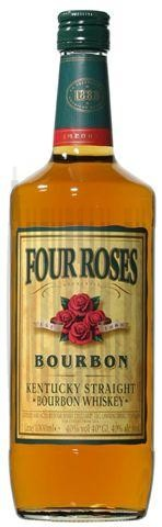 Four roses 1l 40% bourbon whiskey