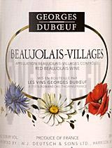 Georges Duboeuf Beaujolais Villages