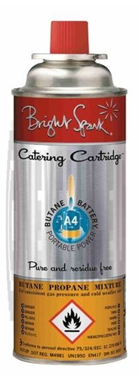 Catering Gas Cartridge Bright spark