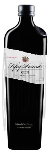Gin Fifty Pounds 70cl 43.5% London Dry Gin