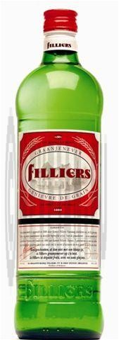Filliers Grain Jenever 1L 30% glass bottle