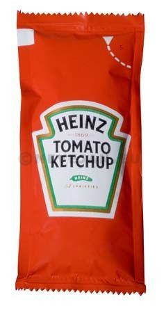 Heinz tomato ketchup 10ml pouches 200x11gr