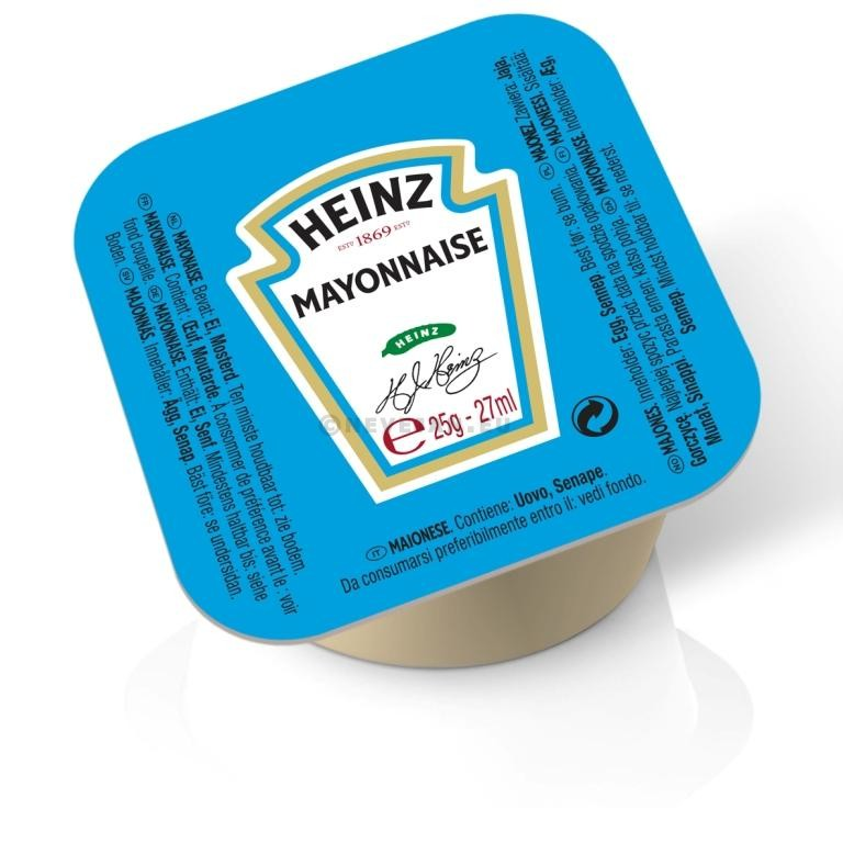 Heinz Mayonnaise portions cups 100x27ml