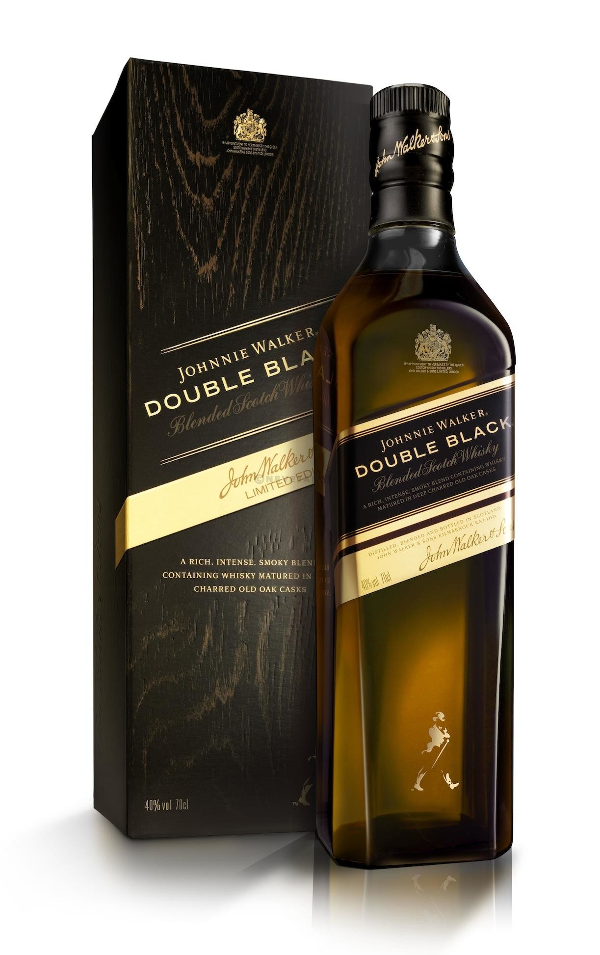 Johnnie Walker Double Black 70cl 40% Blended Scotch Whisky