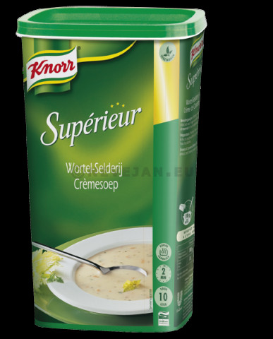 Knorr Superior soup cream of celery & carrot 0.985kg