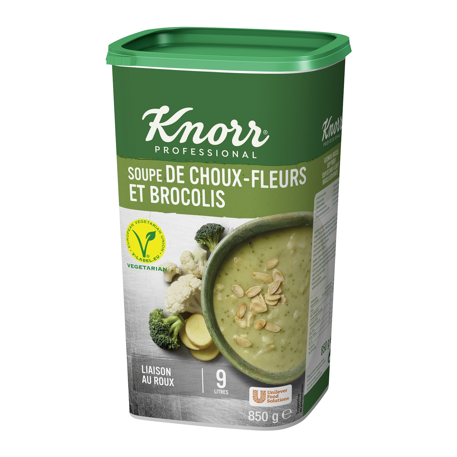 Knorr soup cream of Cauliflower & Broccoli 850g Professional