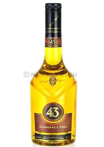 Licor 43 1L 31% Spanish Liqueur