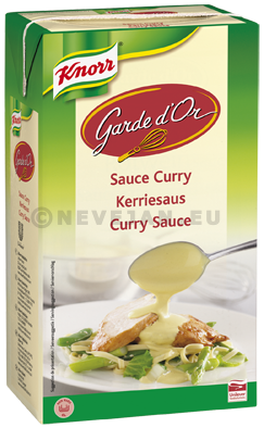 Knorr Garde d'Or sauce Curry 1L Ready to Use