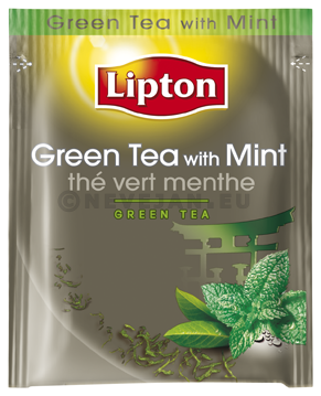 Lipton green tea with mint 1pcs