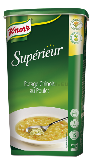 Knorr Superior soup Chinese chicken 1.20kg