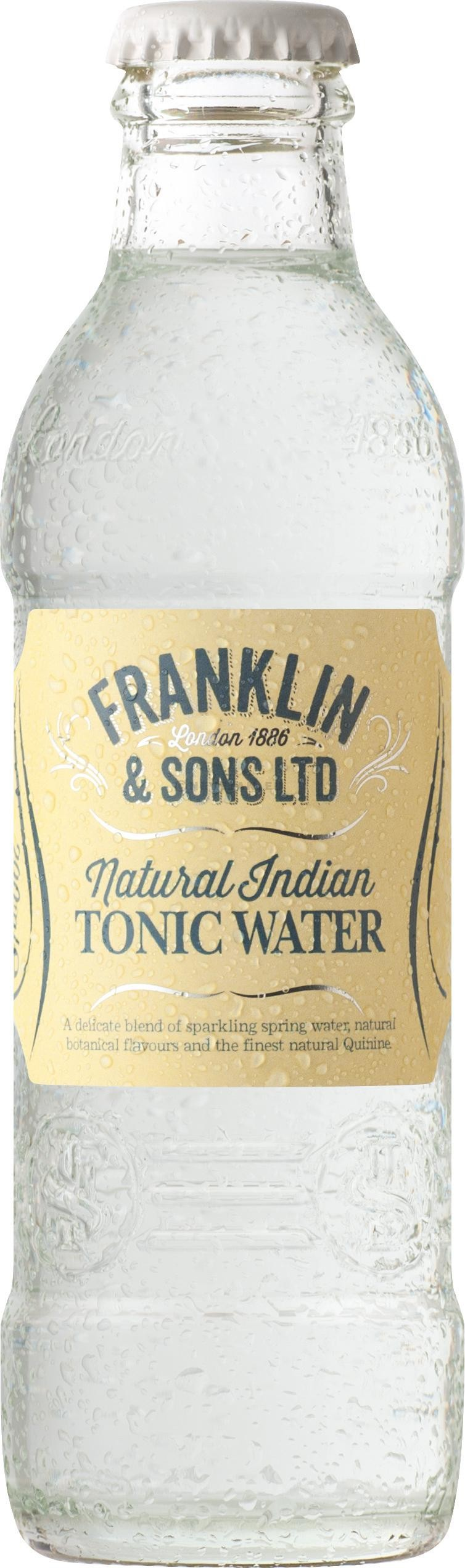 Franklin & Sons Natural Indian Tonic Water 200ml