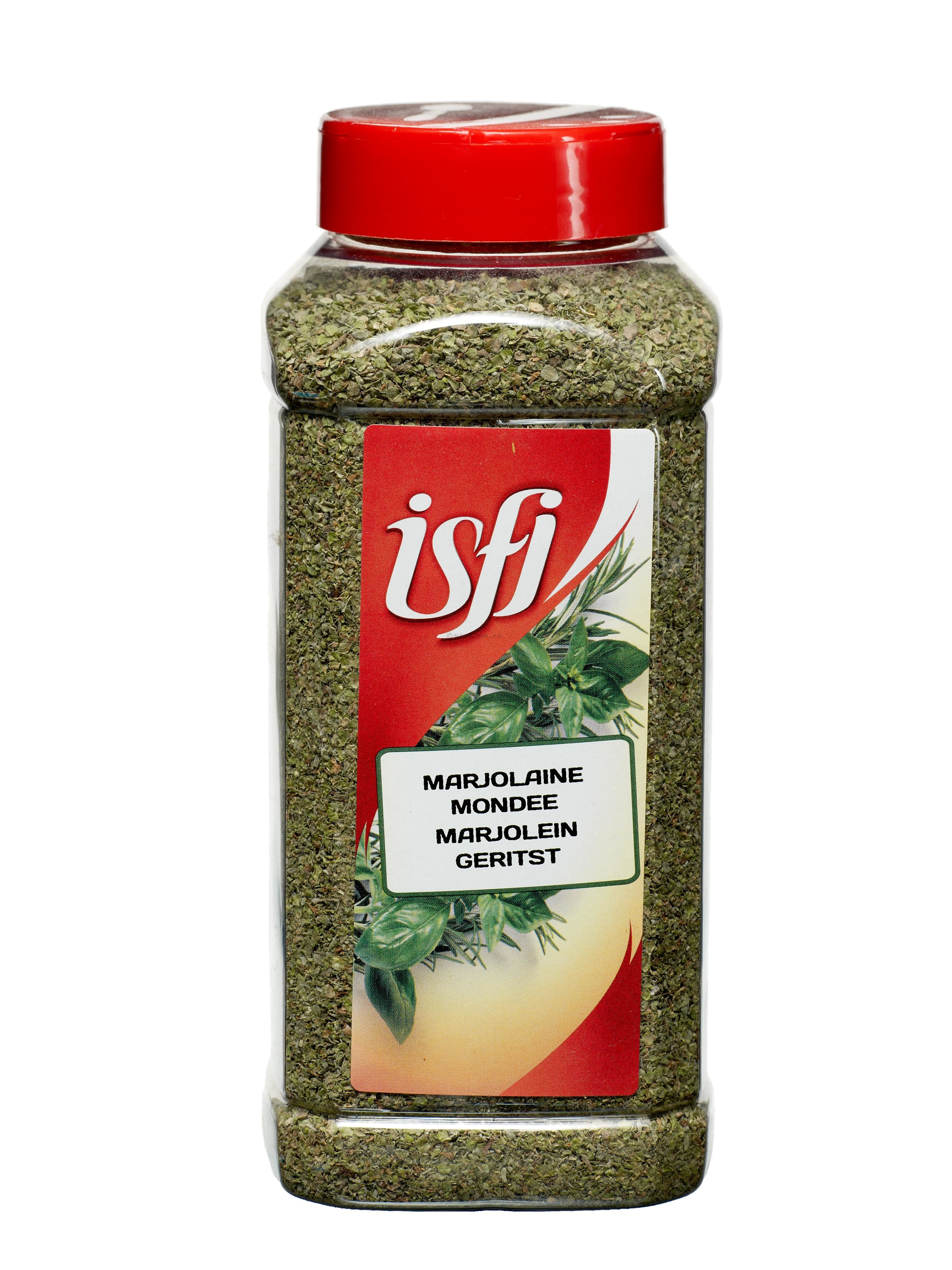 Marjoram Whole 100gr Pet Jar Isfi Spices