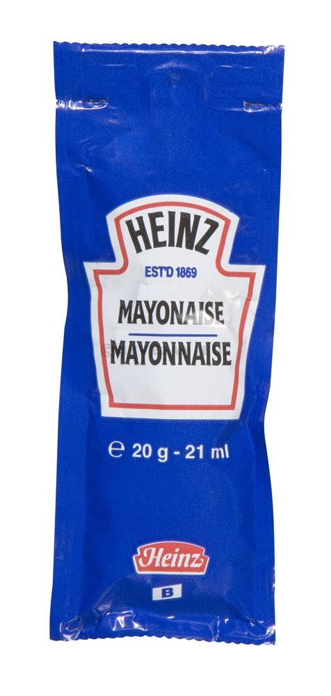 Mayonnaise portions individual sachets 130x20gr Heinz