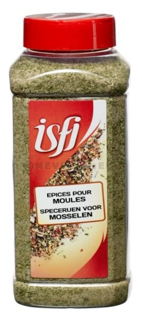 Spice Mix for Mussels 1kg Pet Jar Isfi Spices