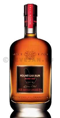 Rum Mount Gay XO extra old 70cl 43% Barbados