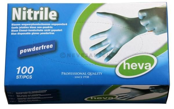 Nitrile Gloves Blue Medium 100pcs