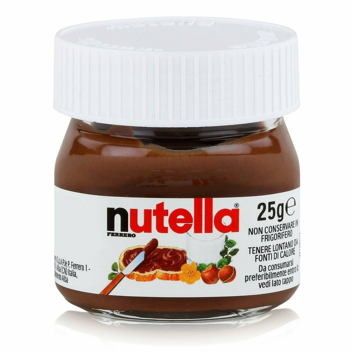 Mini Nutella Potjes 64x25gr