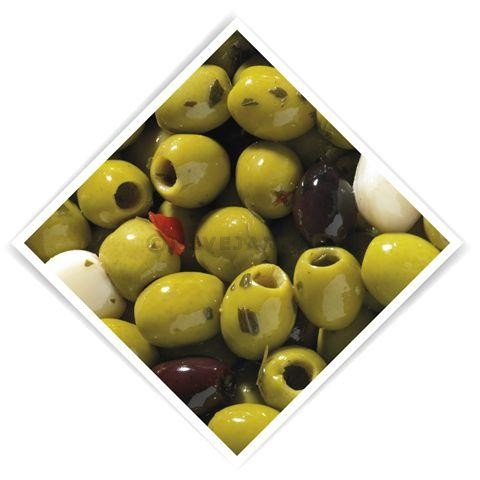 Pitted olives marinated Provencal 3.4kg 5L De Notekraker