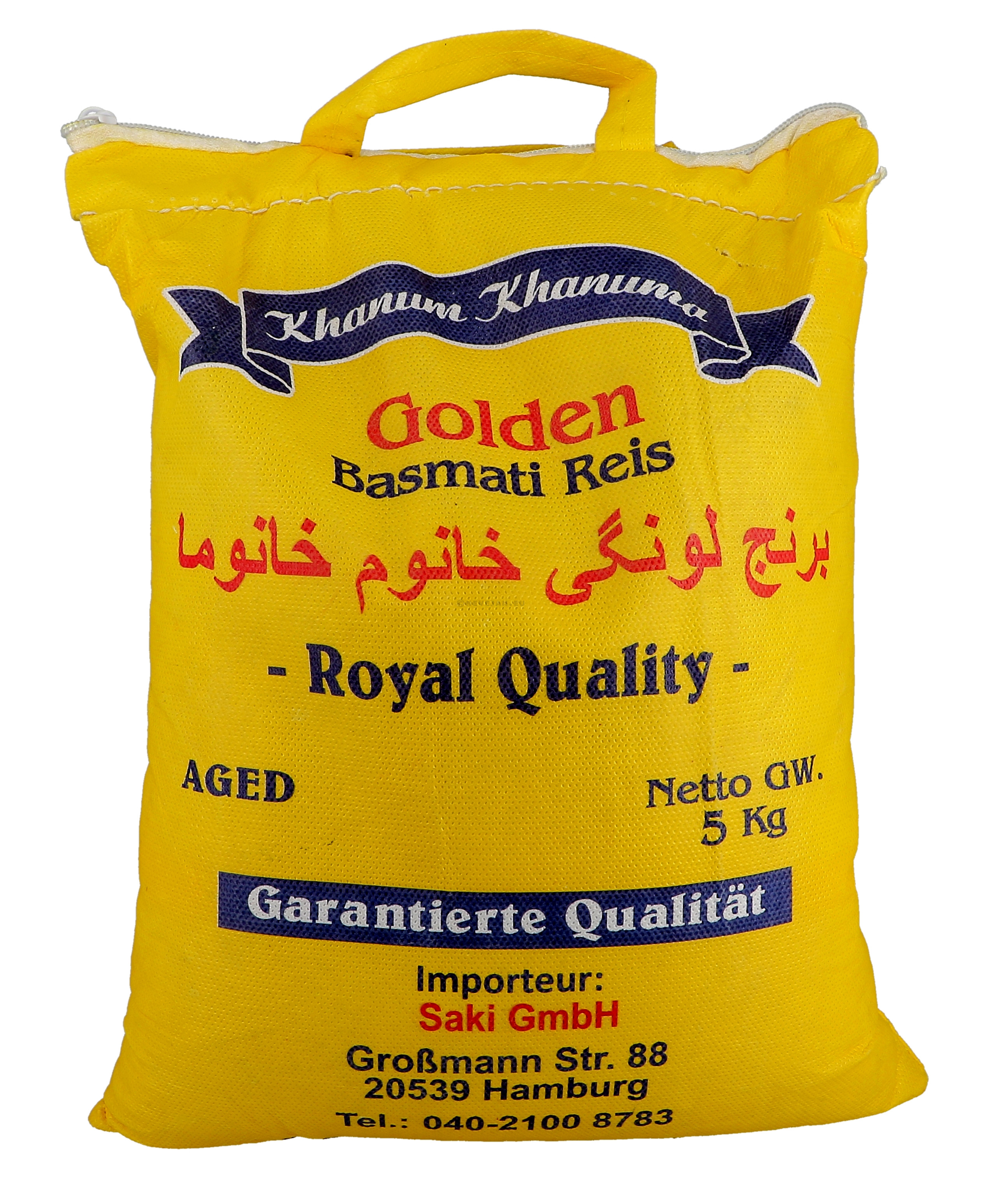 Basmati rice 5kg 1º Quality India