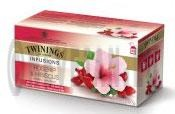Twinings Tea Rosehip & Hibiscus herbal infusion 25 tea bags