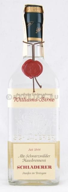 Williams Pear brandy 70cl 40% Schladerer
