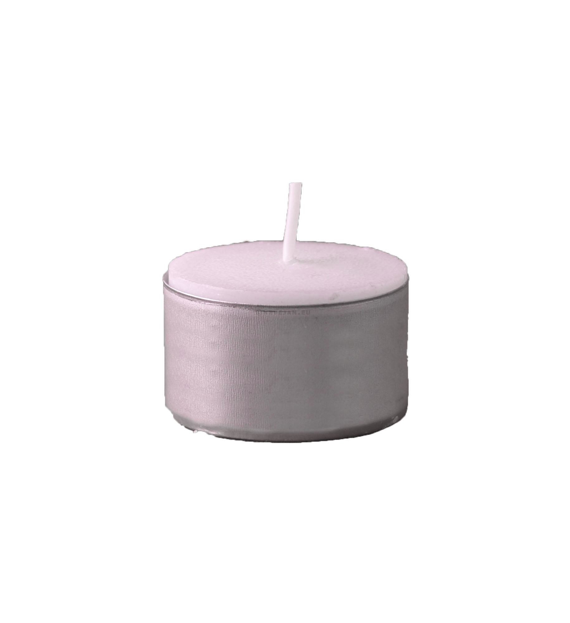 Tealights white 8hours 120pc Spaas