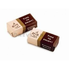 Sugar cubes 2pcs wrapped individually 5kg 1000x5gr Time To Enjoy