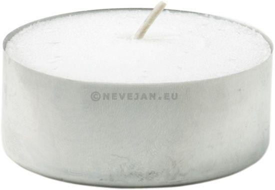 Tealights white 100pc 4hours