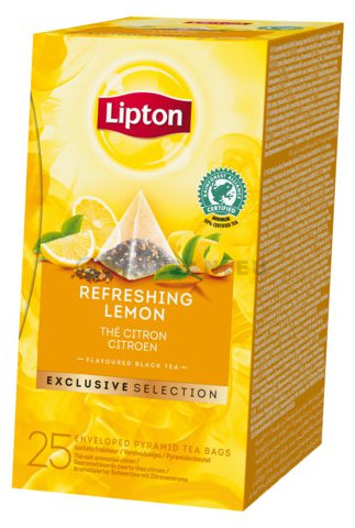 Lipton Tea Refreshing Lemon EXCLUSIVE SELECTION 25pcs