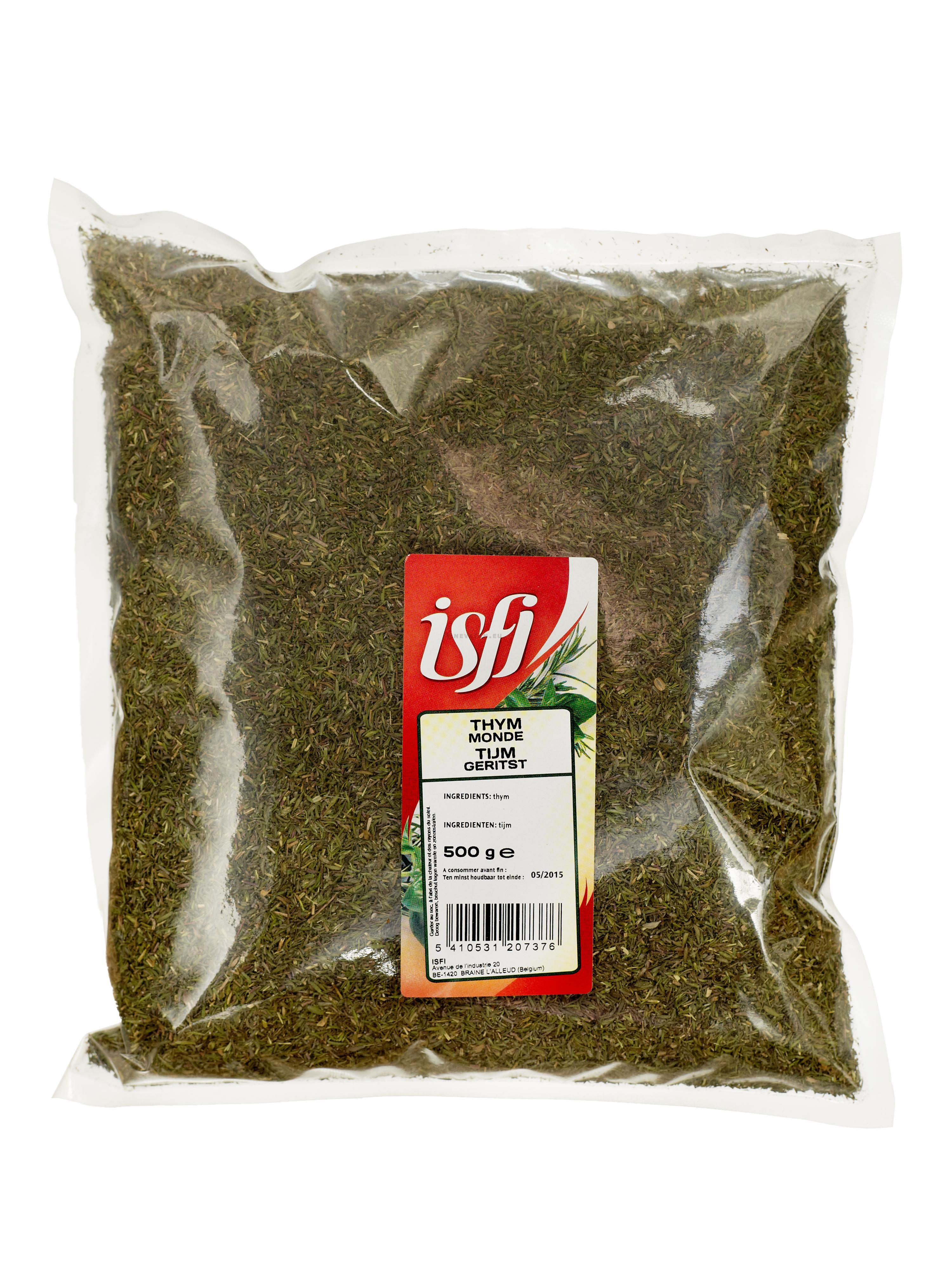Thyme Dried Leaves 500gr Cello Bag - Isfi Spices