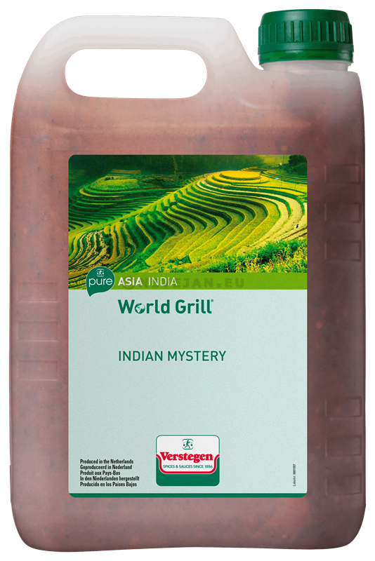 Verstegen World Grill indian mystery 2.5L Pure